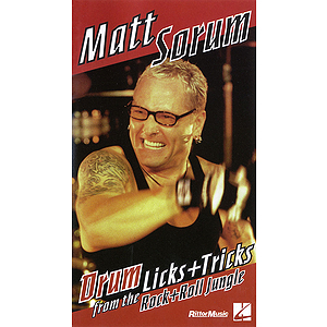 Matt Sorum - Drum Licks+Tricks from the Rock+Roll Jungle (VHS)