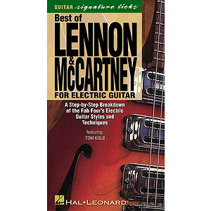 Best of Lennon & McCartney for Electric Guitar (VHS)