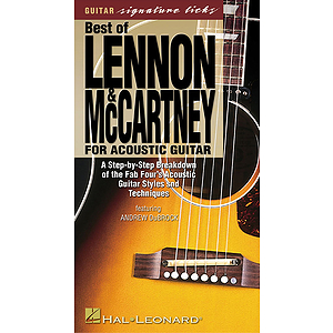 Best of Lennon &amp; McCartney for Acoustic Guitar (VHS)