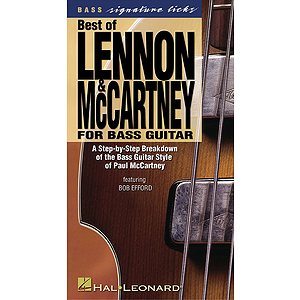 Best of Lennon & McCartney for Bass Guitar (VHS)