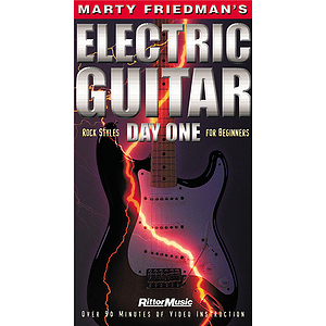 Marty Friedman's Electric Guitar Day One (VHS)