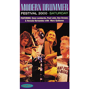 Modern Drummer Festival 2000 - Saturday (VHS)