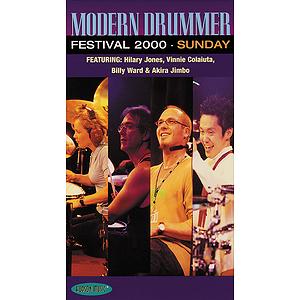Modern Drummer Festival 2000 - Sunday (VHS)