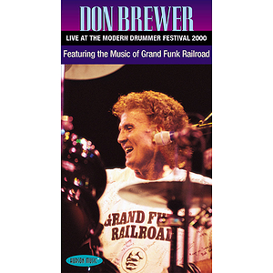 Don Brewer - Live at the Modern Drummer Festival 2000 (VHS)