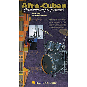 Afro-Cuban Coordination for Drumset (VHS)