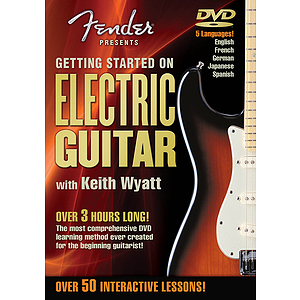 Fender Presents Getting Started on Electric Guitar (DVD)
