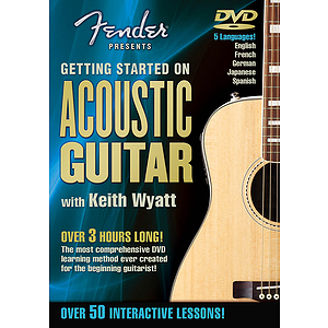 Fender Presents Getting Started on Acoustic Guitar (DVD)