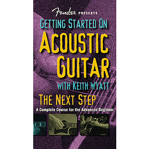 Fender Presents Getting Started on Acoustic Guitar (VHS)