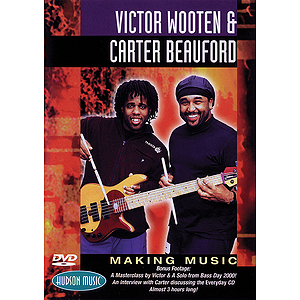 Victor Wooten &amp; Carter Beauford - Making Music (DVD)