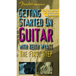 Fender Presents Getting Started on Guitar (VHS)
