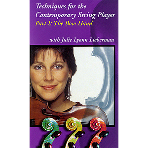 Techniques for the Contemporary String Player - 2-Video Set (VHS)