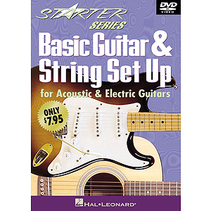 Basic Guitar & String Set Up (DVD)