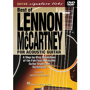 Best of Lennon &amp; McCartney for Acoustic Guitar (DVD)