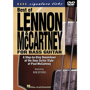 Best of Lennon &amp; McCartney for Bass Guitar (DVD)