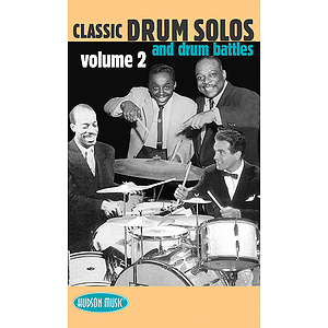 Classic Drum Solos and Drum Battles - Volume 2 (VHS)