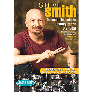 Steve Smith - Drum Set Technique/History of the U.S. Beat (DVD)