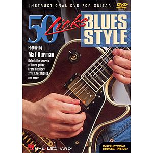 50 Licks Blues Style (DVD)