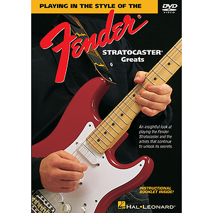Playing in the Style of the Fender Stratocaster Greats (DVD)
