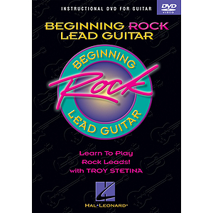 Beginning Rock Lead Guitar (DVD)