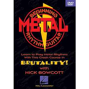 Beginning Metal Rhythm Guitar (DVD)