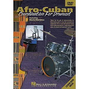 Afro-Cuban Coordination for Drumset (DVD)
