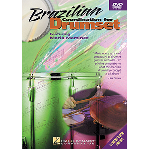 Brazilian Coordination for Drumset (DVD)