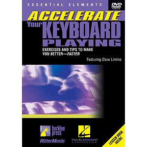 Accelerate Your Keyboard Playing (DVD)