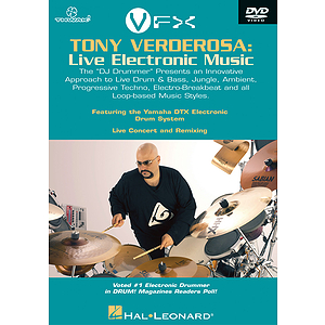 Tony Verderosa - Live Electronic Music (DVD)