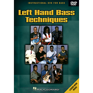 Left Hand Bass Techniques (DVD)