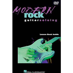 Modern Rock Guitar Soloing (DVD)