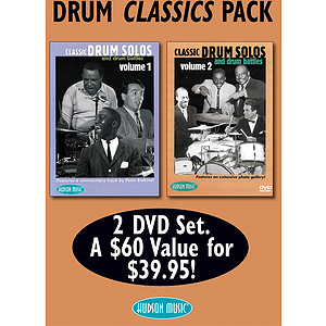 Drum Classics Pack (DVD)