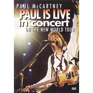 Paul McCartney - Paul Is Live in Concert (DVD)