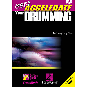 More Accelerate Your Drumming (DVD)
