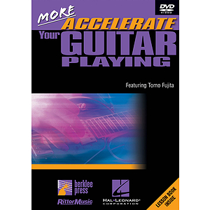 More Accelerate Your Guitar Playing (DVD)