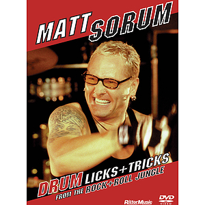 Matt Sorum - Drum Licks+Tricks from the Rock+Roll Jungle (DVD)