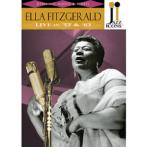 Jazz Icons: Ella Fitzgerald, Live in '57 and '63 (DVD)