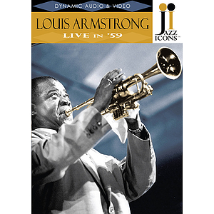 Jazz Icons: Louis Armstrong, Live in &#039;59 (DVD)
