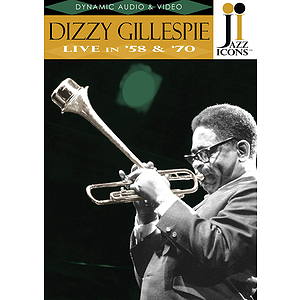 Jazz Icons: Dizzy Gillespie, Live in '58 and '70 (DVD)