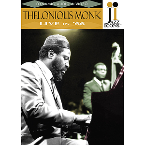 Jazz Icons: Thelonious Monk, Live in &#039;66 (DVD)