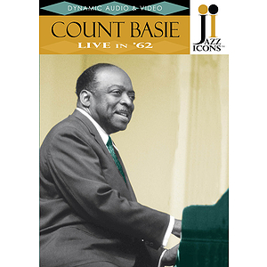 Jazz Icons: Count Basie, Live in '62 (DVD)
