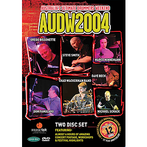 Australia's Ultimate Drummers Weekend - AUDW2004 (DVD)