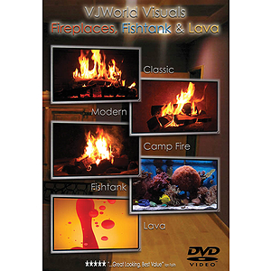 Fireplaces, Fishtank & Lava (DVD)