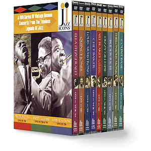 Jazz Icons Boxed Set (DVD)