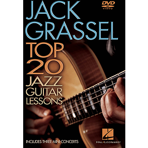 Jack Grassel - 20 Top Jazz Guitar Lessons (DVD)