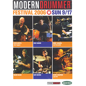 Modern Drummer Festival 2006 - Sunday (DVD)