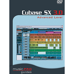 Cubase Sx 3.0 Advanced Level (DVD)