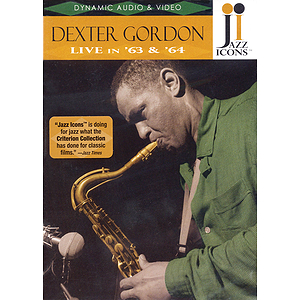 Dexter Gordon - Live in '63 and '64 (DVD)