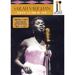Sarah Vaughan - Live in '58 and '64 (DVD)
