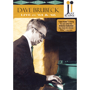 Dave Brubeck - Live in '64 and '66 (DVD)