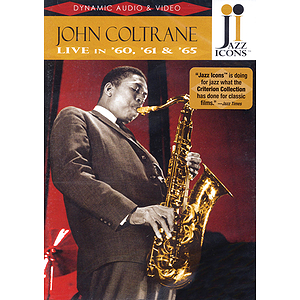 John Coltrane - Live in '60, '61 and '65 (DVD)